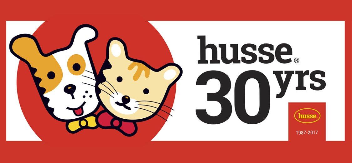 30 anni con Husse