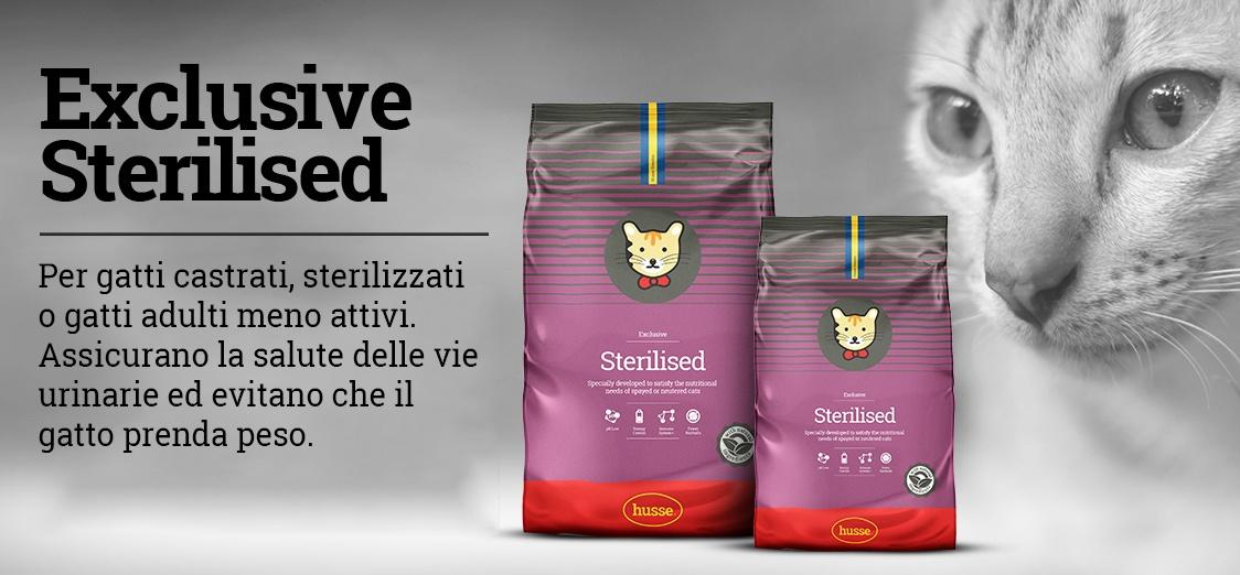 Exclusive Sterilised - per gatti castrati o sterilizzati