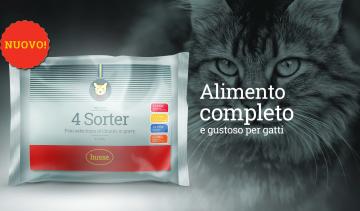 4 Sorter - Novità Husse per il tuo gatto