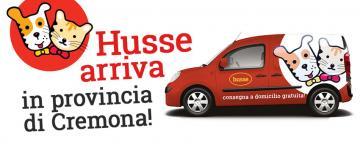 Husse arriva in provincia di Cremona