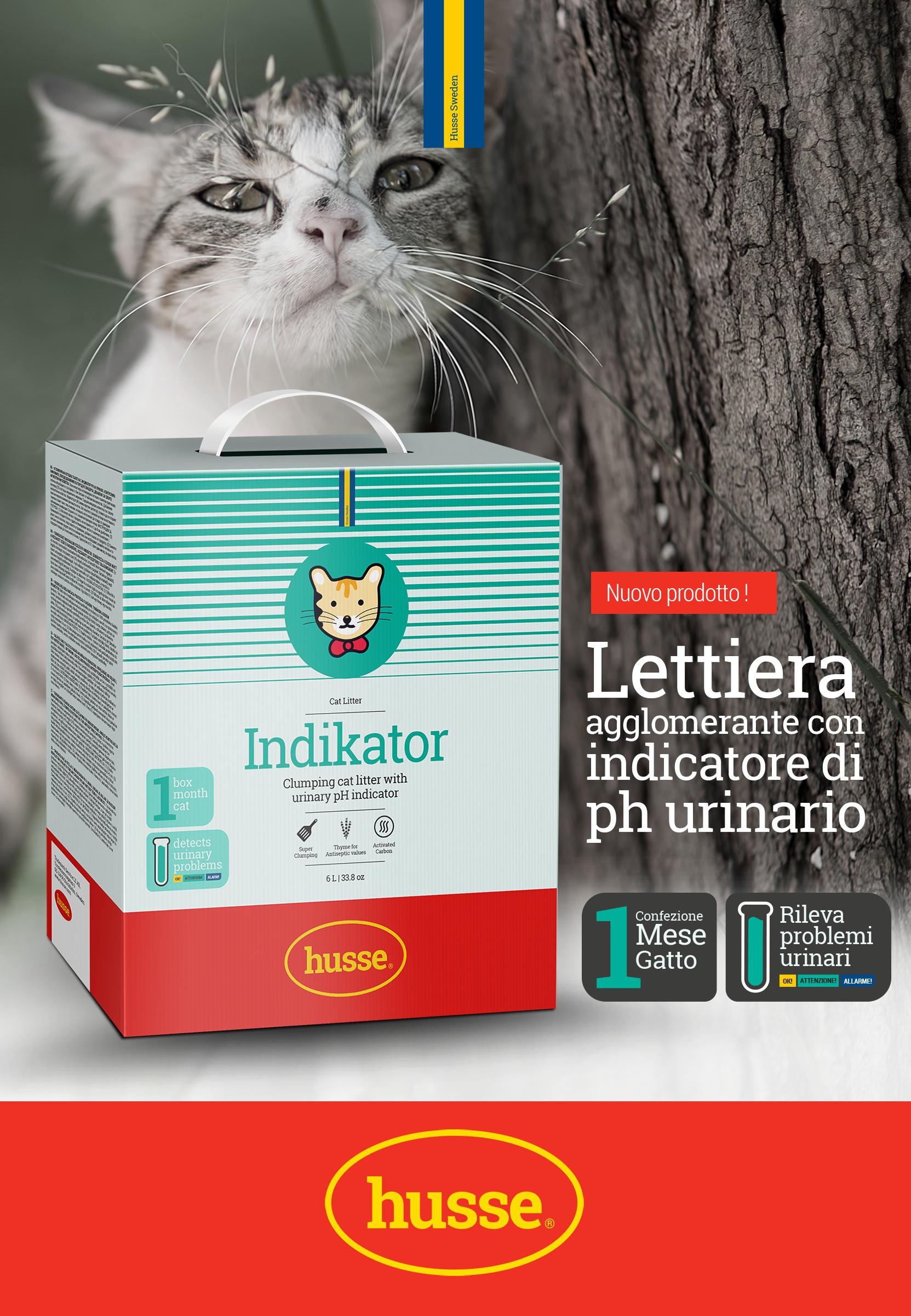 Husse alimenti di qualit per cani e gatti direttamente for Migliore lettiera per gatti